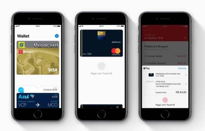 Apple Pay ganha suporte a cartões de Bradesco e Banco do Brasil