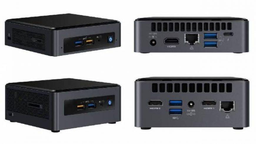 Intel anuncia novas versões de seus minicomputadores NUC
