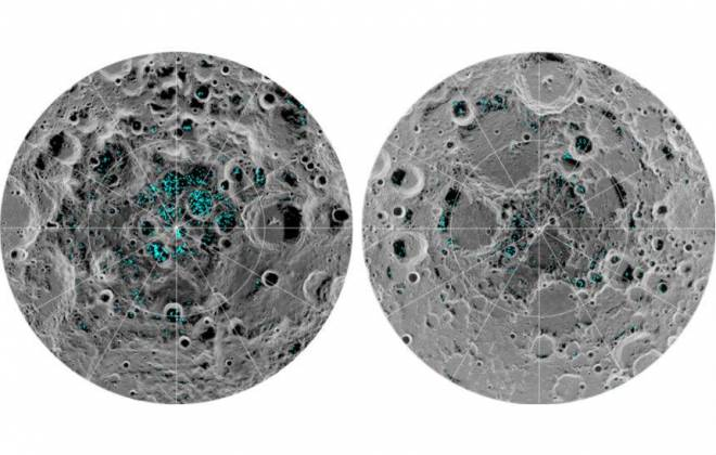 NASA confirma presença de água congelada na Lua