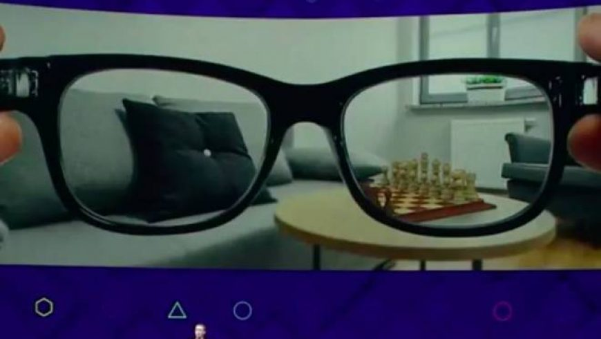 Facebook prepara óculos de realidade aumentada