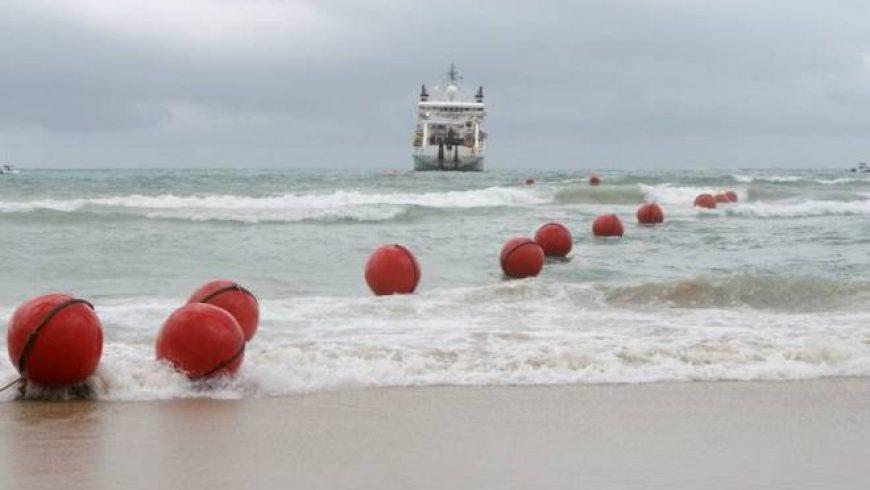 Novo cabo submarino de internet liga Brasil a Angola e atinge 40 Tbps
