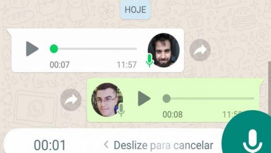 WhatsApp copia Telegram e começará a reproduzir áudios seguidos automaticamente