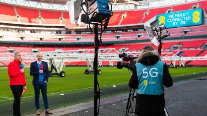 Operadora britânica faz transmissão ao vivo usando 5G
