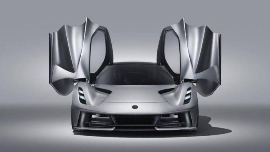 Evija é o primeiro hipercarro 100% elétrico da Lotus