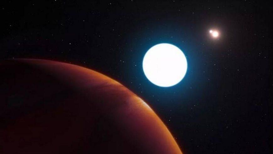 Cientistas descobrem planeta do tamanho da Terra com três sóis